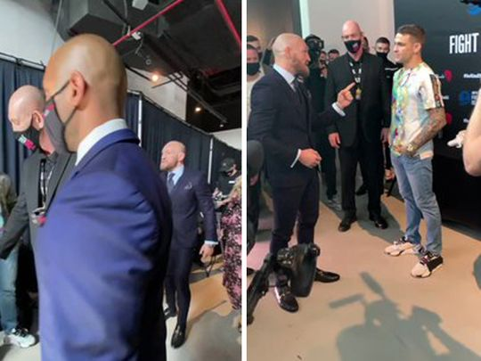Conor McGregor struggles to walk after defeat to Dustin Poirier