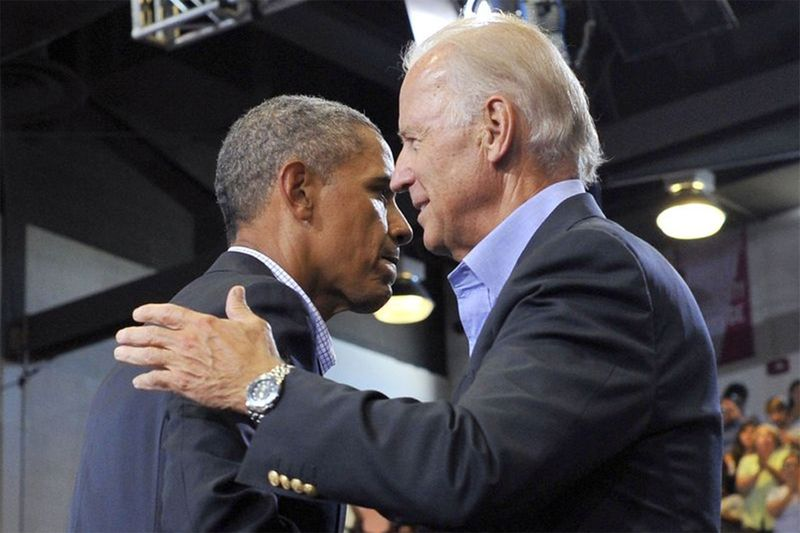 Joe BIden and Barrack Obama