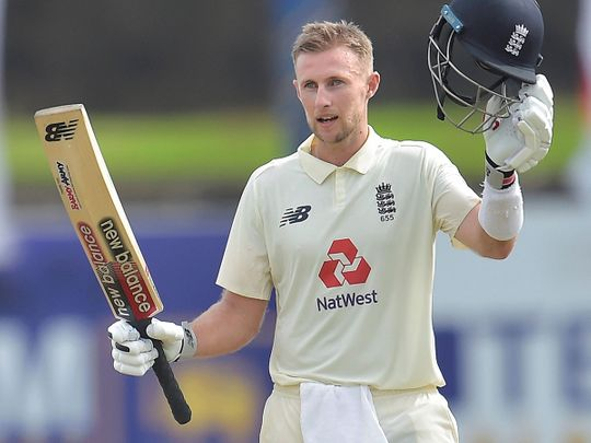 Joe Root hit consecutive centuries against Sri Lanka