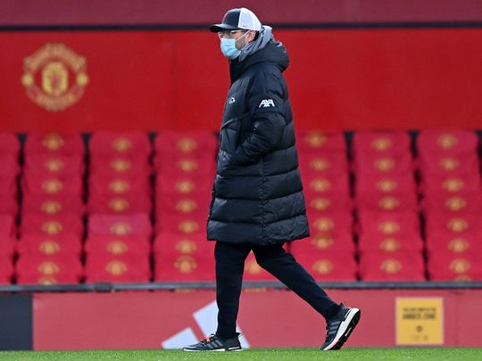 Jurgen Klopp at Old Trafford