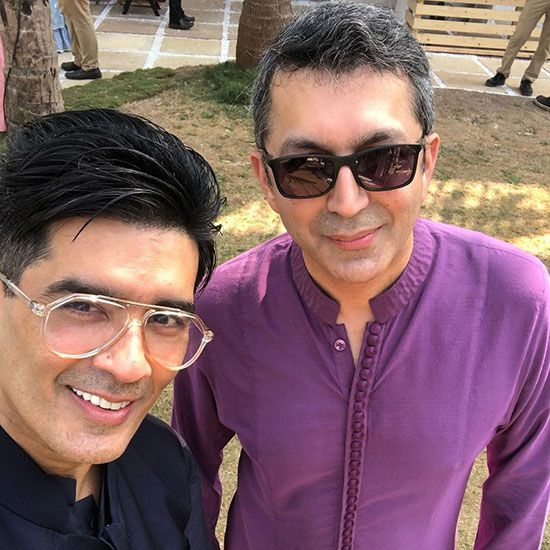 Kunal Kohli and Manish Malhotra