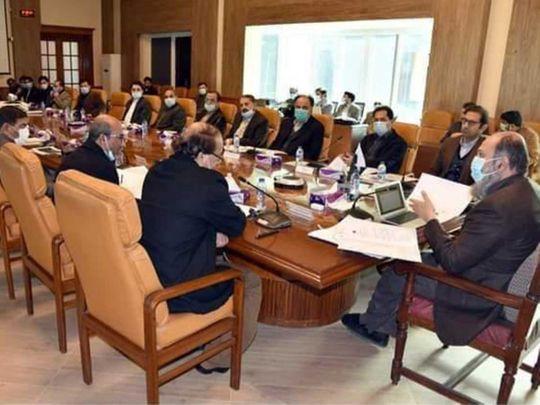 Quetta Cabinet meeting