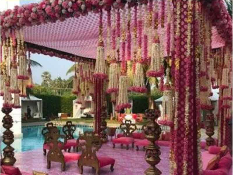Varun Dhawan wedding Mandap