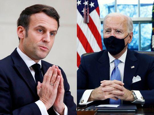 210125 Macron Biden