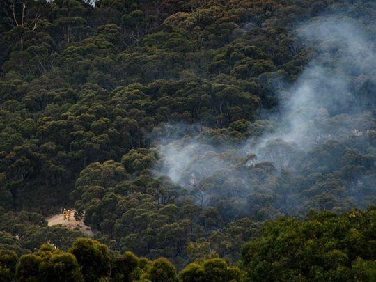 Australia bushfire Adelaide