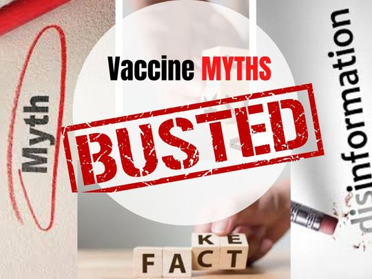 Busted vaccine myths