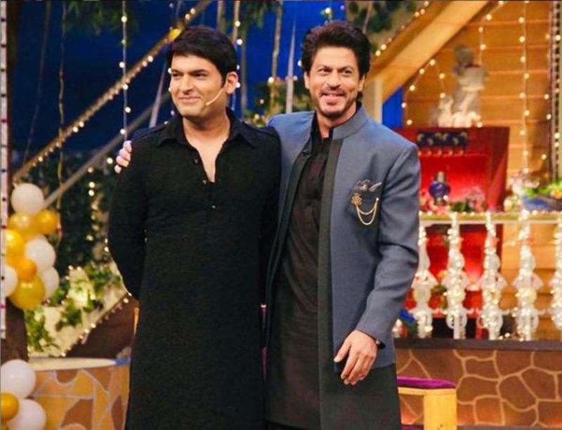 Kapil Sharma and SRK-1611572632613