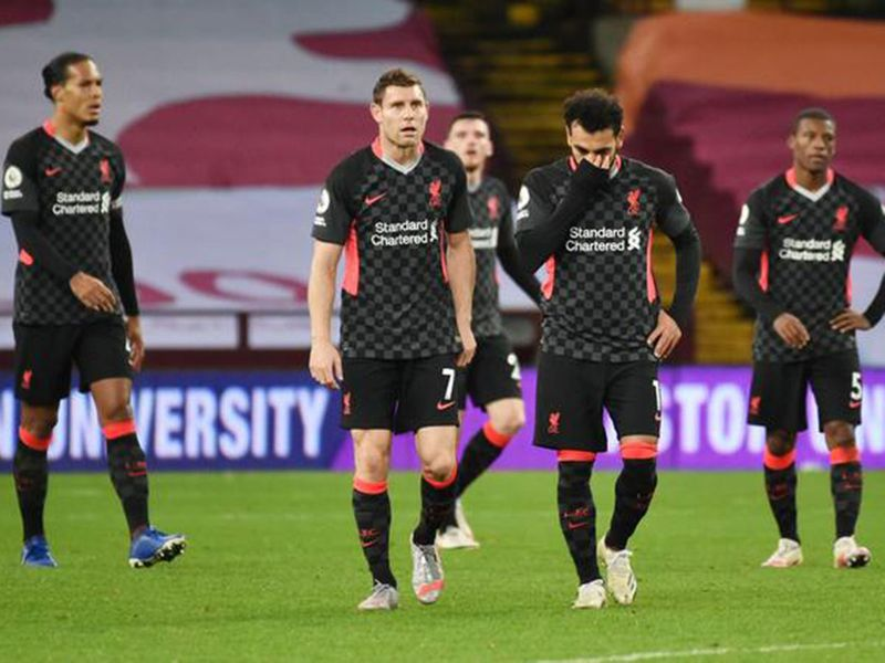 Liverpool were thumped 7-2 by Aston Villa