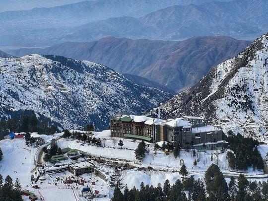 Malam Jabba ski resort Winter sports festival Pakistan