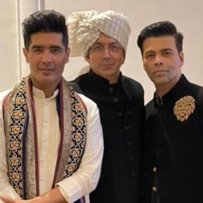 Manish Malhotra, Kunal Kohli and Karan Johar