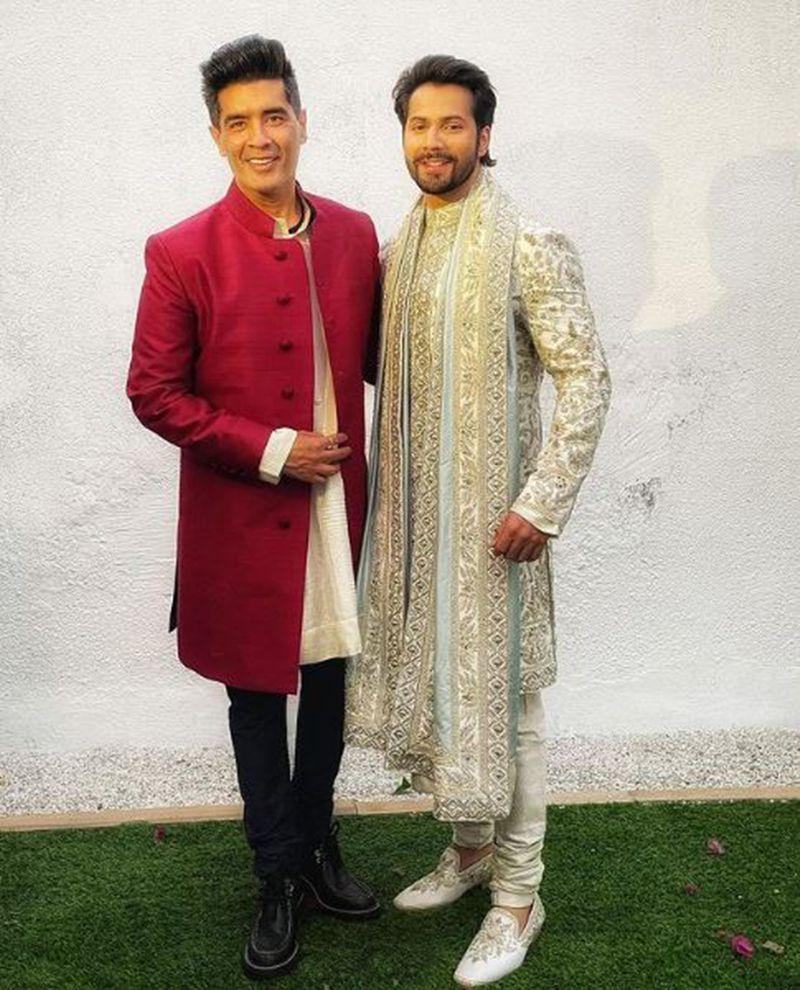 Manish Malhotra and Varun Dhawan