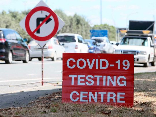 New Zealand covid testing centre