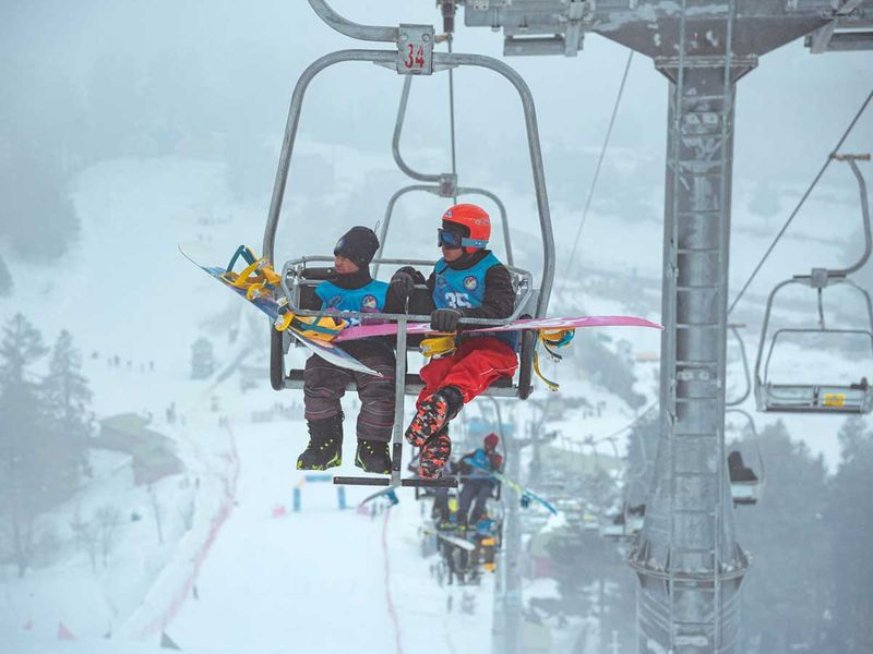 Pakistan International Snowboarding Championship Malam Jabba ski resort