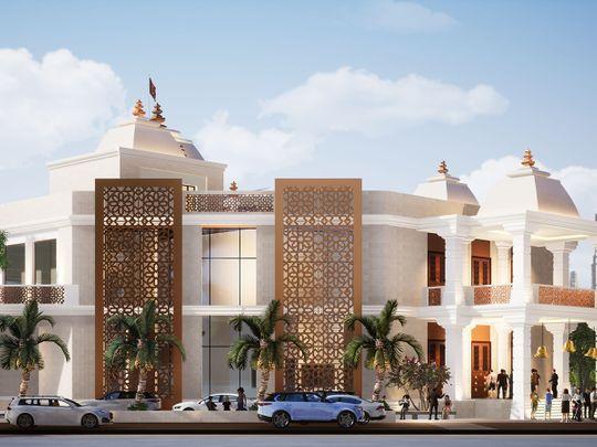Photos: Dubai's new Hindu temple to open doors next year