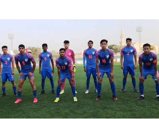 The India Under-16 side defeated the UAE 1-0