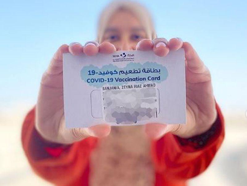 UAE mum bloggers share COVID-19 vaccination photos