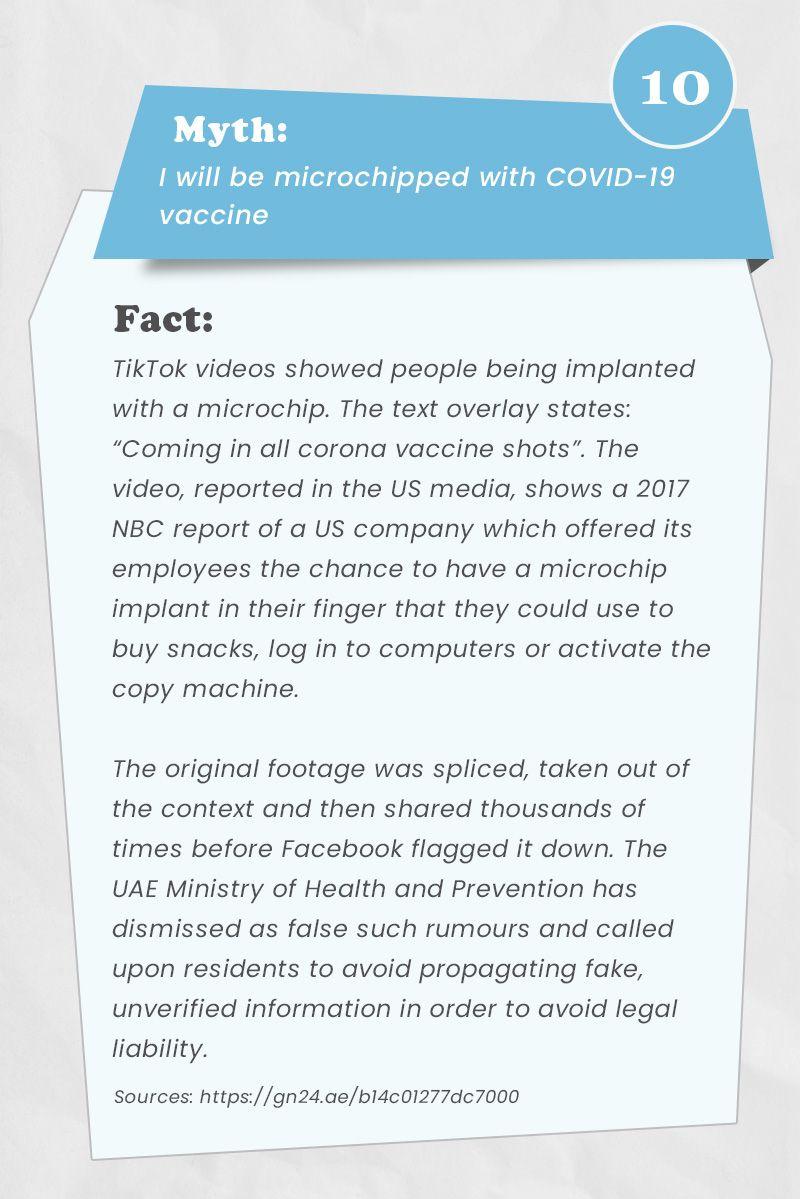 vaccine myths busted