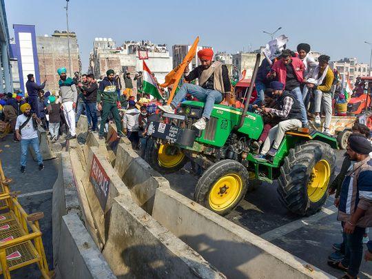 Ghazipur border