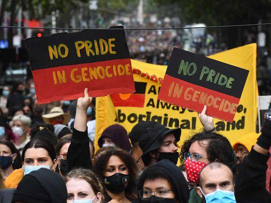Australia day protests Melbourne