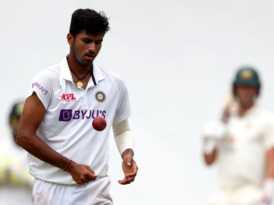 India's Washington Sundar