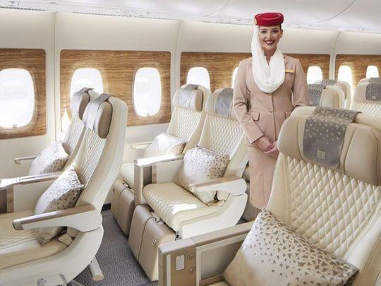 Inside Emirates new premium economy class