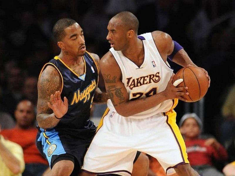 JR Smith and Kobe Bryant.