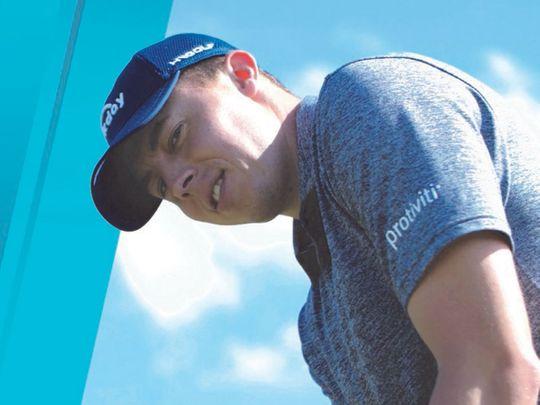 Matthew Fitzpatrick is aiming for glory at the Omega Dubai Desert Classic
