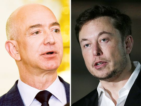 Barbs fly over satellite projects from Elon Musk, Jeff Bezos - Gulf News