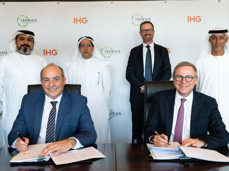 IHG signs MDA with Ishraq Hospitality to open 8 new Holiday Inn Express hotels across MEA