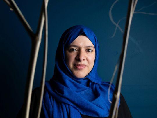 Artist Azza Al Qubaisi is part of the Art Amid Covid series