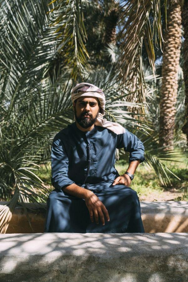 Artist Obaid Al Budoor