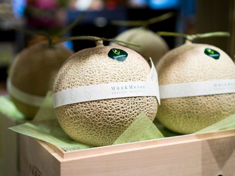 Crown melon from Japan