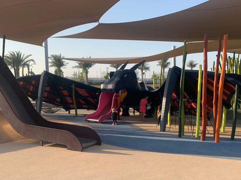 Dubai hillspark