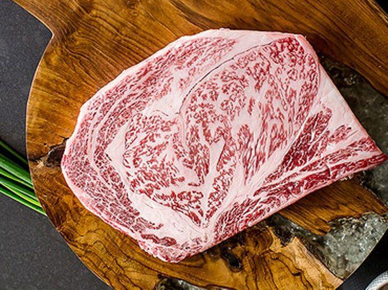 Finely marbled A5 Japanese Wagyu Ribeye