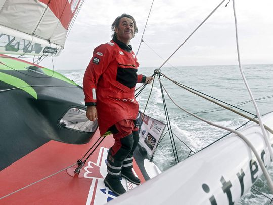 French skipper Yannick Bestaven