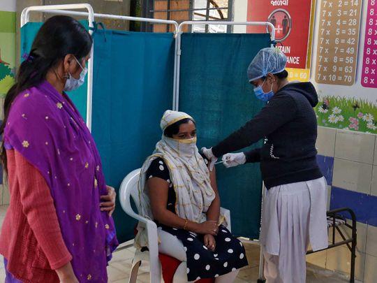INdia vaccine covishield Ahmedabad