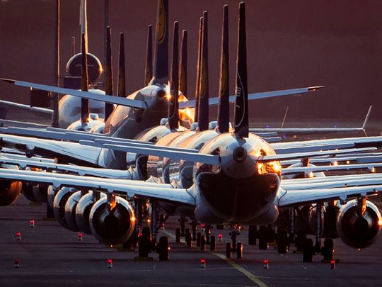 STOCK Lufthansa aircraft airlines