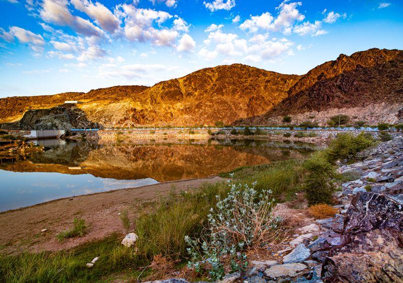 Shawka Dam at dawn