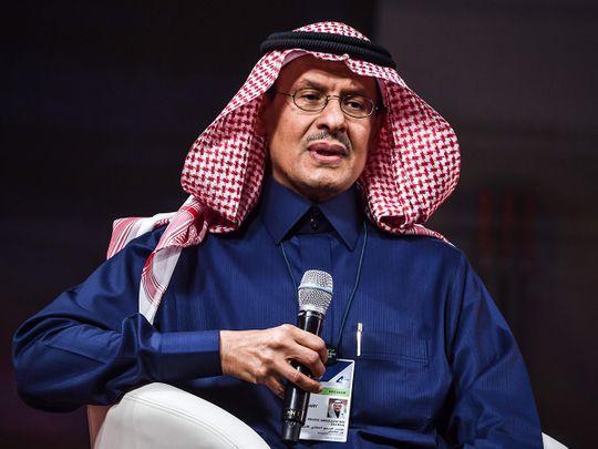 Stock Saudi Energy Minister Prince Abdulaziz bin Salman al-Saud