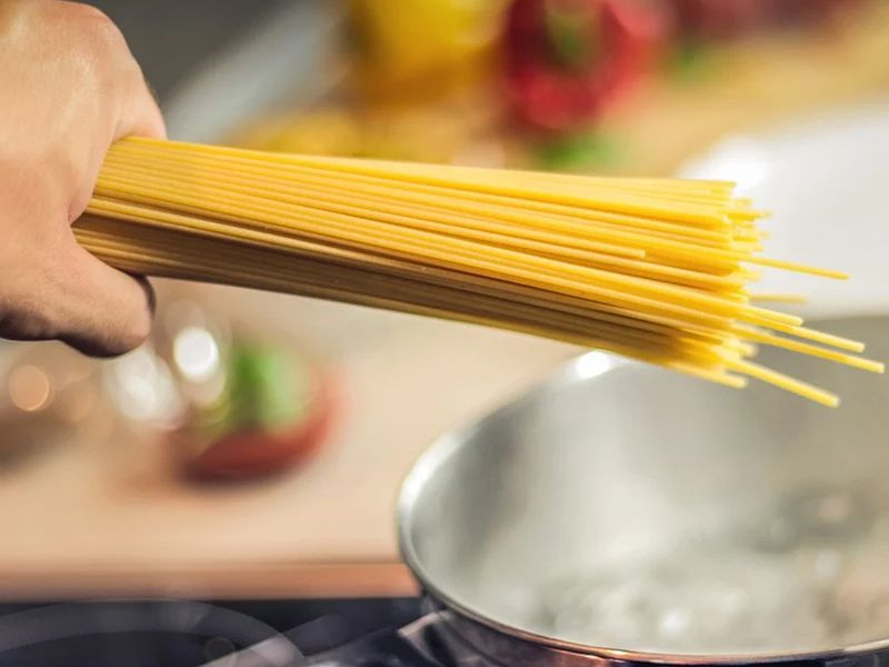 pasta, boil