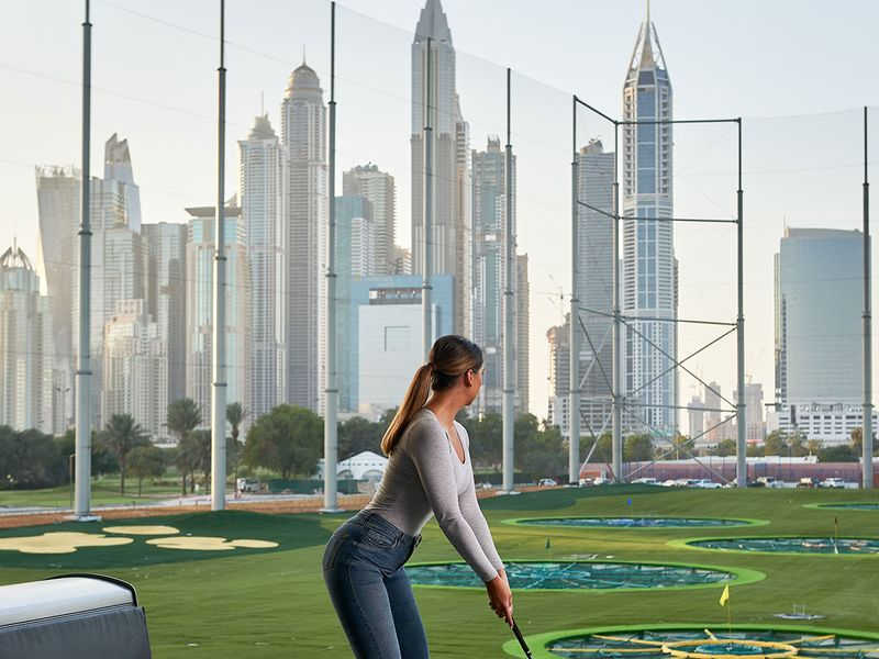 top golf dubai