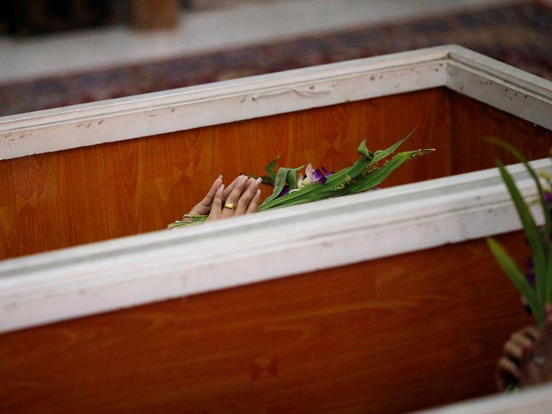 Mock funerals gallery