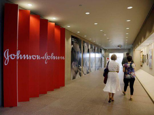 headquarters of Johnson & Johnson in New Brunswick, NJ.