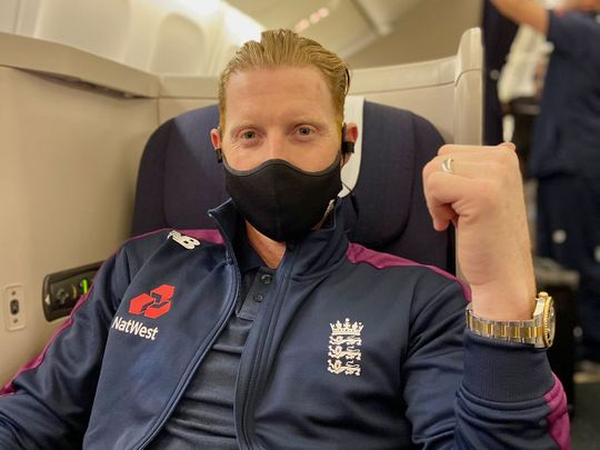 Ben Stokes arrived in India ahead of the England squad and will train along with Jofra Archer and Rory Burns on Saturday