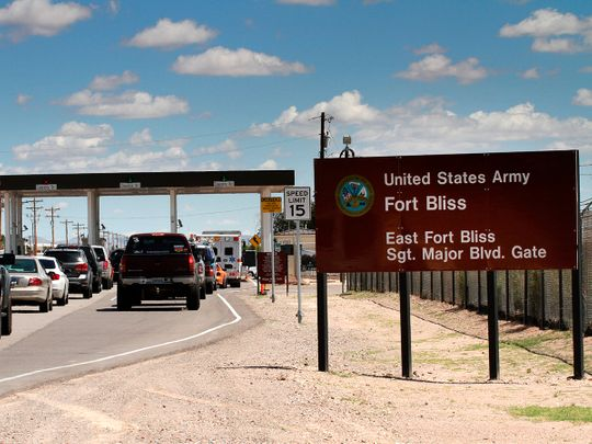 Fort Bliss in El Paso