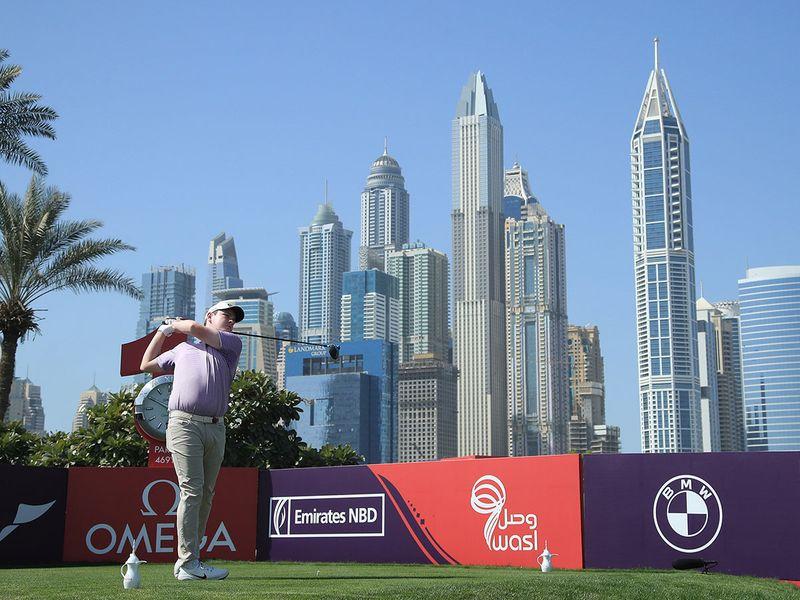 Robert MacIntyre is chasing victory in Dubai