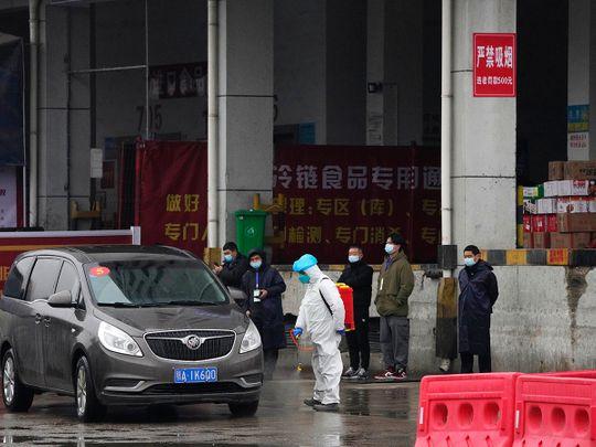 Baishazhou wholesale market
