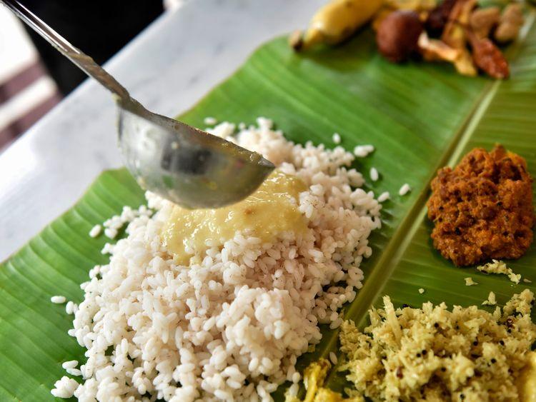 Parippu (lentil curry)