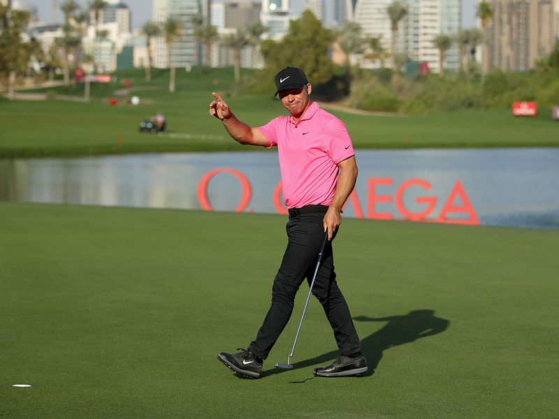 Paul Casey storms to win at Omega Dubai Desert Classic