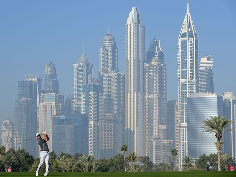 Paul Casey won the 2021 Omega Dubai Desert Classic